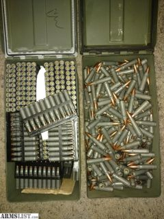 For Sale: .223 & 7.62 Ammo