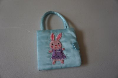 Bunny Purse Board Book