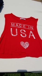 Made in USA crop top