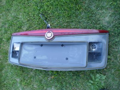 CADILLAC CTS REAR FINISH PANEL BACK UP THIRD BRAKE LIGHT 03-07