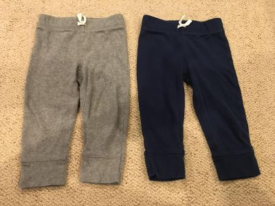 Carters 18 month pants but fit more like 12 months