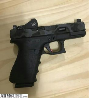For Sale: Milled Glock 19 with vortex viper red dot