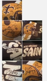 Saints football banner