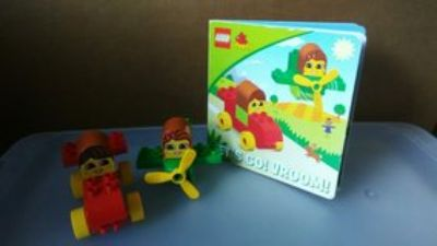 Lego Duplo Read and Build Set