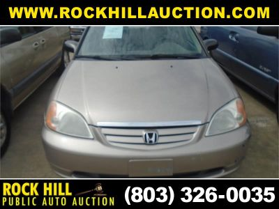 2001 Honda Civic LX (Gold)