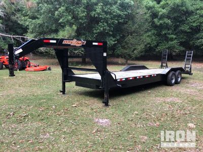 2018 (unverified) Down to Earth DTE8228GN6B T/A Equipment Trailer