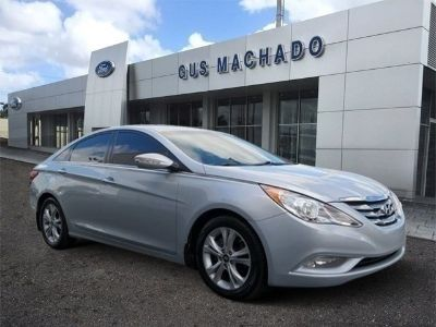 2013 Hyundai Sonata Limited (Radiant Silver Metallic)
