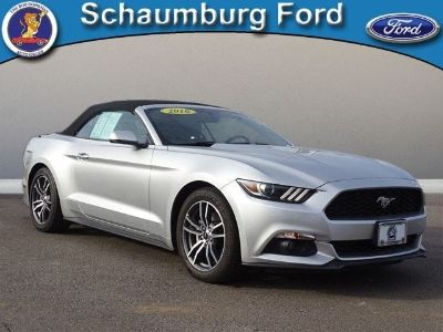 2016 Ford Mustang EcoBoost Premium (Ingot Silver Metallic)
