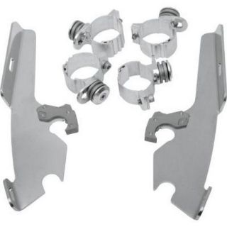 Purchase Memphis Shades Fats/Slim/FairingTrigger-Lock Mounting Kit Polished (MEM8985) motorcycle in Holland, Michigan, United States, for US $149.95
