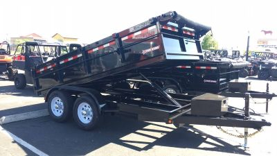 2019 FIVE STAR TRAILER MANUFACTURING, INC 12' DUMP TRAILER WITH 2' SIDES Dump Trailers Paso Robles, CA