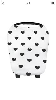Infant Nursing Cover, Baby Car seat Canopy, Cart Protection