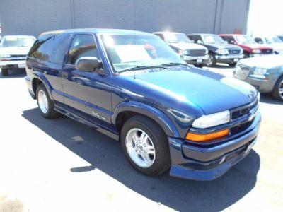 2002 Chevrolet Blazer LS (Indigo Blue Metallic)