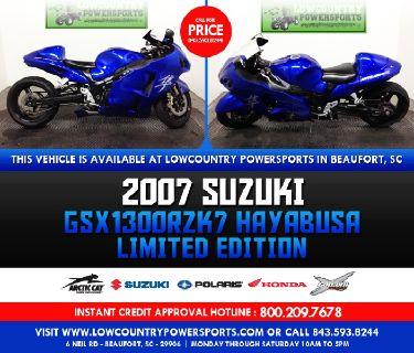 2007 Suzuki GSX1300RZK7 HAYABUSA LIMITED EDITION