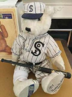 Chicago White Sox 1917 Liited Edition Cooperstown Bear with COA