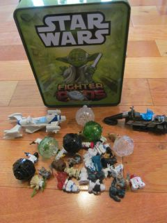 Star Wars Fighter Pods (only 5 pods, and case doesn't always latch properly)
