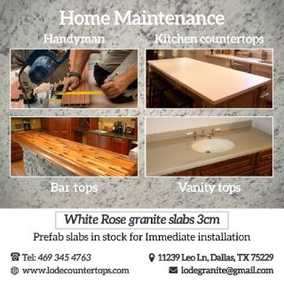 Home improvement services, kitchen renovation, bath remodel