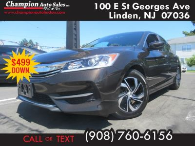 2016 Honda ACCORD SEDAN 4dr I4 CVT LX (Kona Coffee Metallic)
