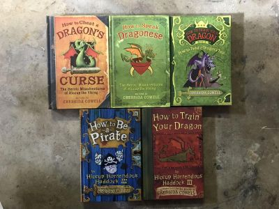 How to train your dragons 5 book set