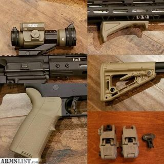 For Sale/Trade: AR-15 FDE Parts/Red Dot