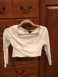 Forever 21 crop top sz M