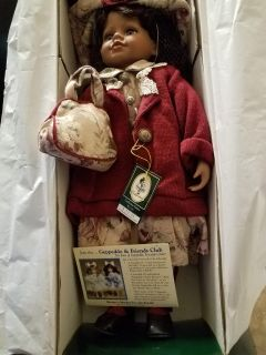 Brand new vintage Geppeddo collectible doll