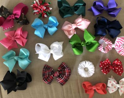 Bows $1 each or $15 for all