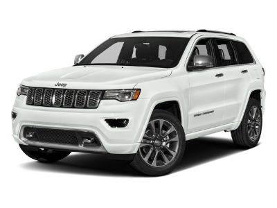 2017 Jeep Grand Cherokee Overland (Bright White Clearcoat)