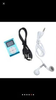 mp3 player w/ clip and 4gb ts card