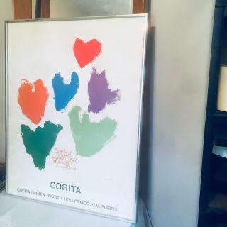 Vintage 1970s Original Signed Work Corita Kent