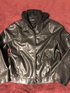 Means Leather Jacket XL - Very new!