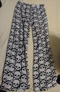Stacked Skull & Bones Pj Pants