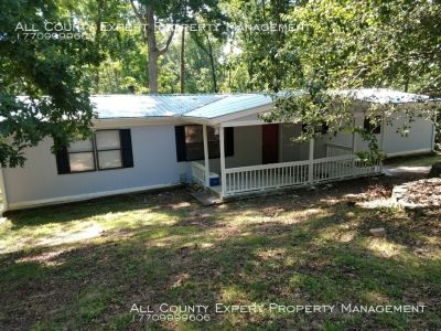 3 Bed/2 Bath almost 3 acres