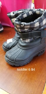 Toddler 6 snow boots