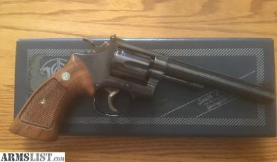 For Sale: Smith and Wesson model 48-2, .22 magnum with extras (complete)
