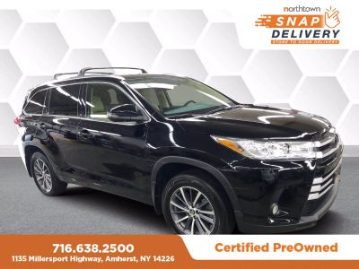 2018 Toyota Highlander XLE V6 (Midnight Black)