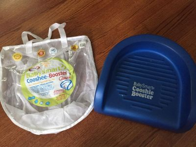 Original Cooshie booster seat with carry bag
