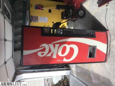 For Sale/Trade: Coke cola machine/future safe