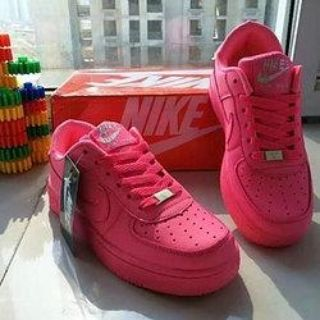 Pink Air Force 1s