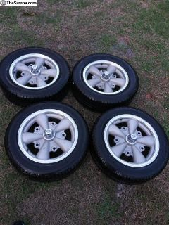 Empi 5 spoke rims and tires brand new