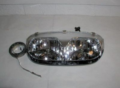 Sell Ski Doo Rev headlight 2003-2007 Revs Needs minor repair BARGAIN PRICE! motorcycle in Menominee, Michigan, United States, for US $58.95