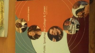 $15 OBO Public Speaking for College & Career (SPH 101)- 8th edition