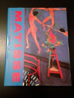Vintage 1990 Henri Matisse A Retrospective Hard Cover Coffee Table Book w Dust Jacket