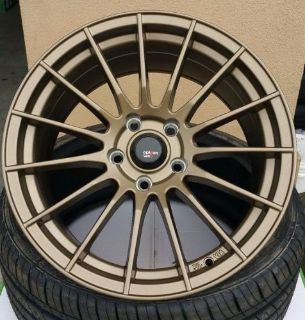 "Sell 17"" (4) NEW 17X9 5X114.3 BRONZE WHEELS HONDA TOYOTA LEXUS INFINITI MAZDA SCION motorcycle in San Rafael, California, United States, for US $589.00"