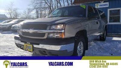 2003 Chevrolet Silverado 1500 Extended Cab LS Pickup 4D 8 ft