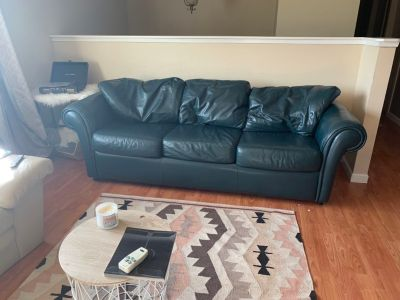 Couch, love seat and footrest!
