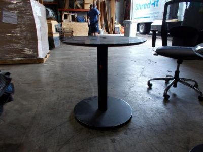 Black Cocktail/Bistro Tables RTR#6101684-09