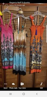 Sundresses New with Necklace and Bracelet
