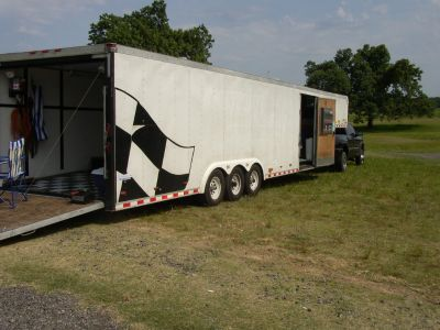 40 Pace Enclosed Trailer