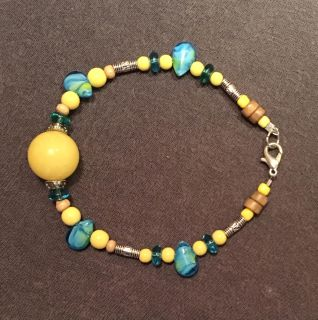 Creative Jewelry Combination with Yellow Hues