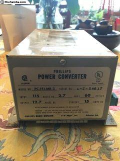 Original Camper Voltage Converter